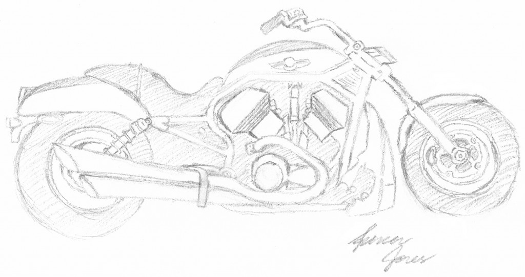 motorcycle by Spencer