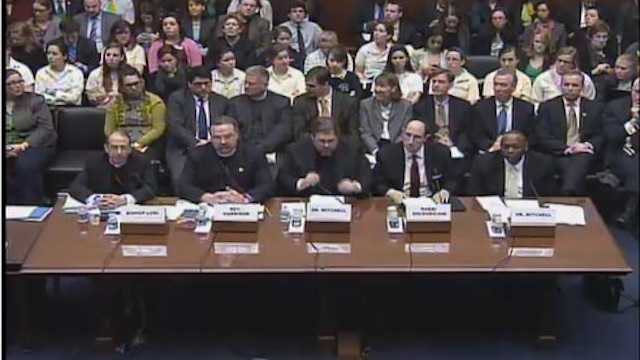 Republican Birth Control Hearings 2012